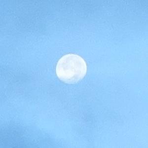 三峯朝の月.JPG