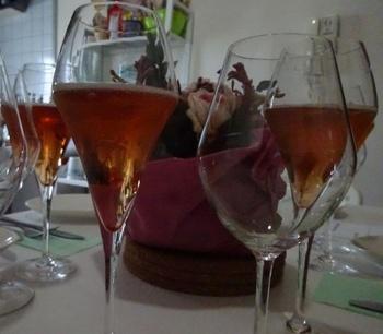 Welcome drink Kir Royel.JPG